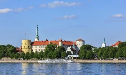Et foto af byen Riga fra en anden vinkel - Risskov Rejser
