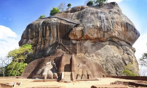 Sigiriya-klippen, Sri Lanka - Risskov Rejser
