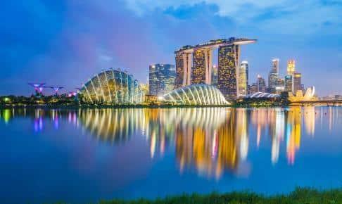 Singapores skyline - Risskov Rejser
