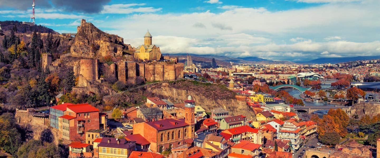 Panorama over Tbilisi - Risskov Rejser