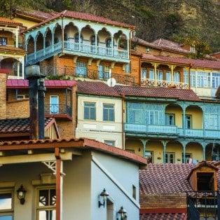Middelalderbyen Signagi - Risskov Rejser