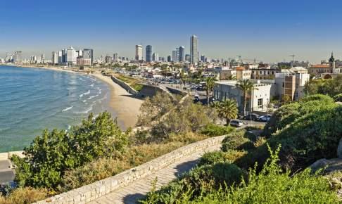 Vi flyver hjem fra Tel Aviv