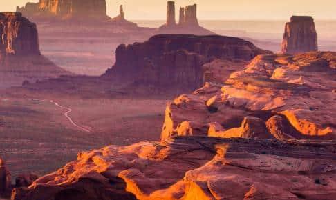 The Hunt's Mesa - Monument Valley, USA - Risskov Rejser
