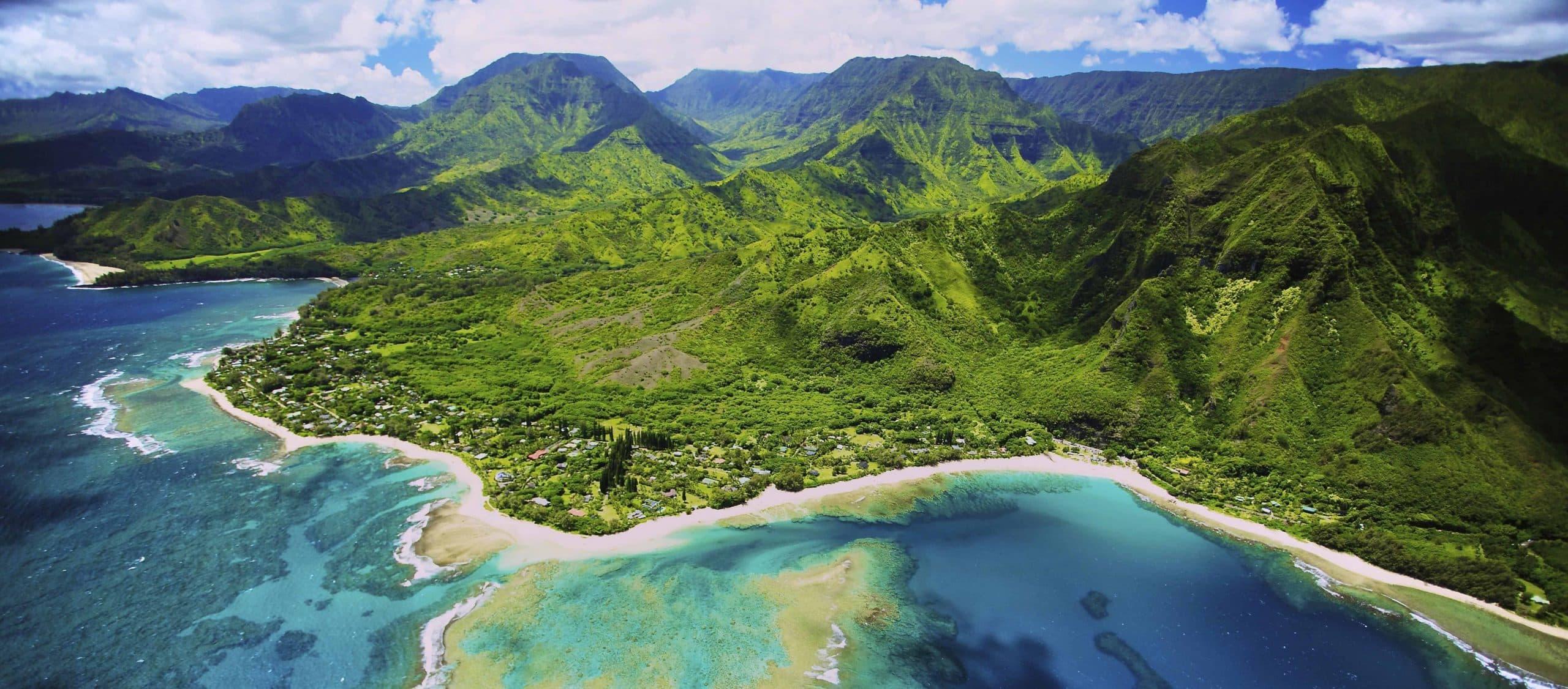 Tunnels Beach Kauai - Risskov Rejser
