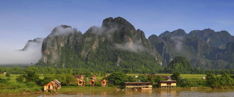Vang Vieng i Laos - Risskov Rejser
