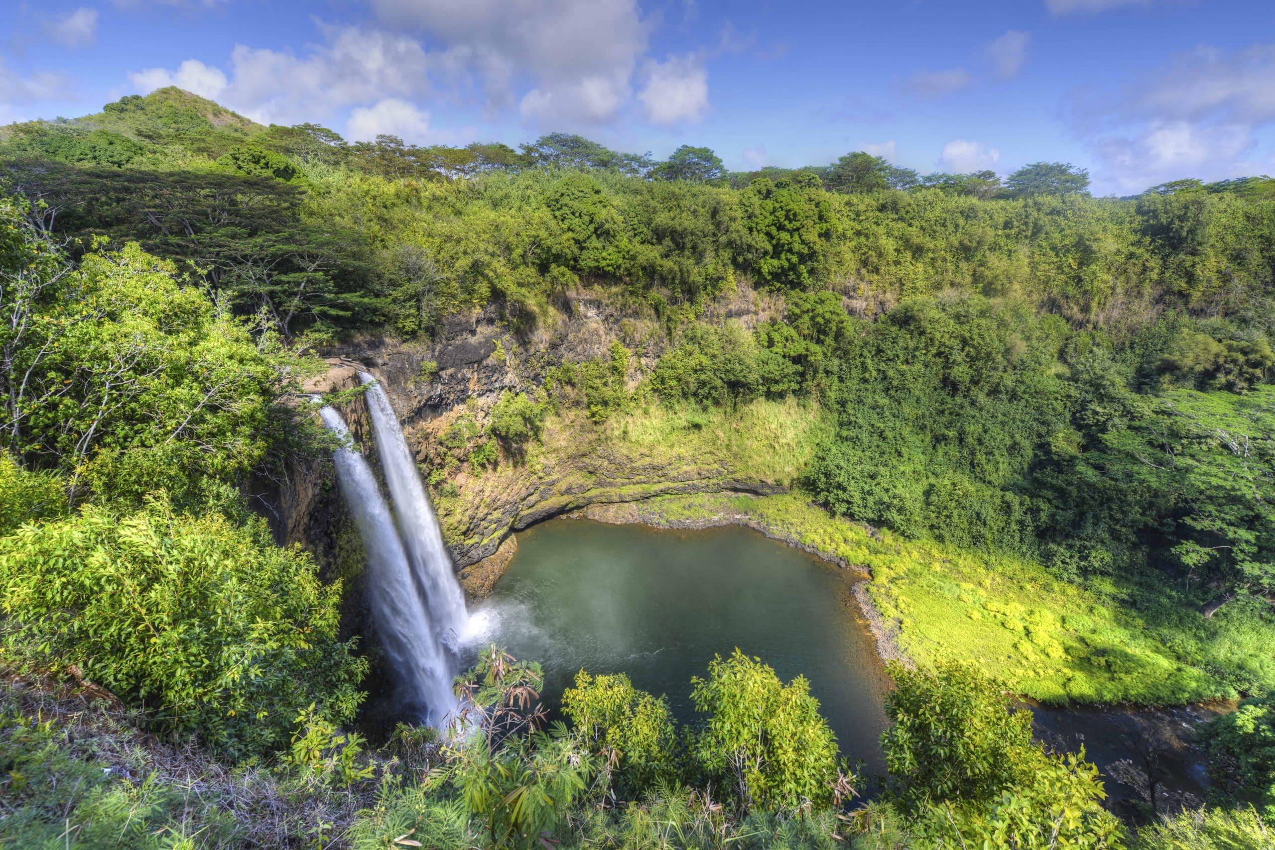 Wailua Falls - Hawaii - Risskov Rejser