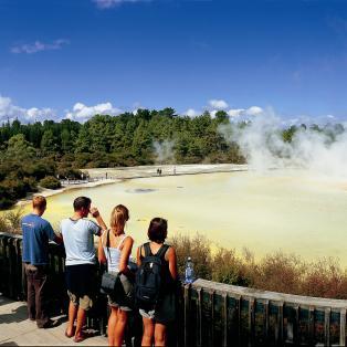 Waiotapu, New Zealand - Risskov Rejser