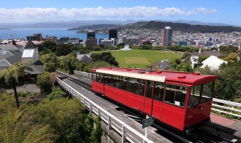 Wellington Cable Car - Risskov Rejser