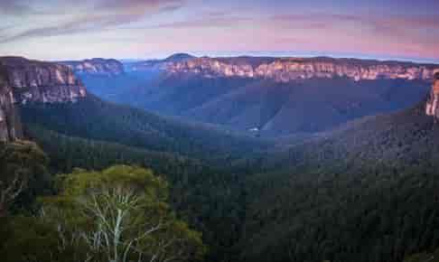Three Sisters Rock i Blue Mountains - Risskov Rejser