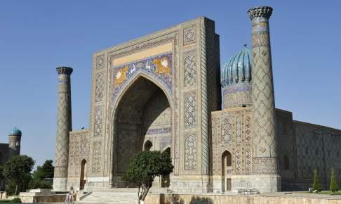 Ved Lyab-i Hauz-torvet ligger der flere medrassaer - Risskov Rejser