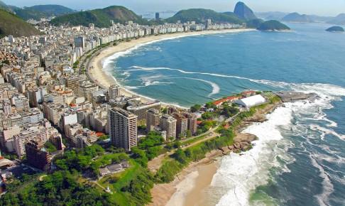 Den verdens berømte strand Copacabana - Risskov Rejser