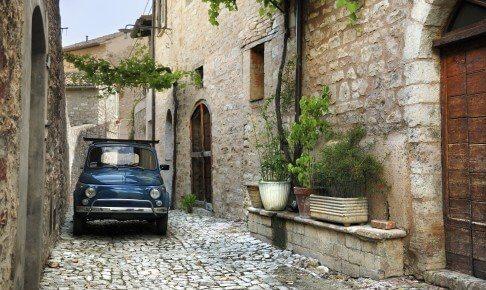 Ægte italiensk Fiat 500 - Italien - Risskov Rejser