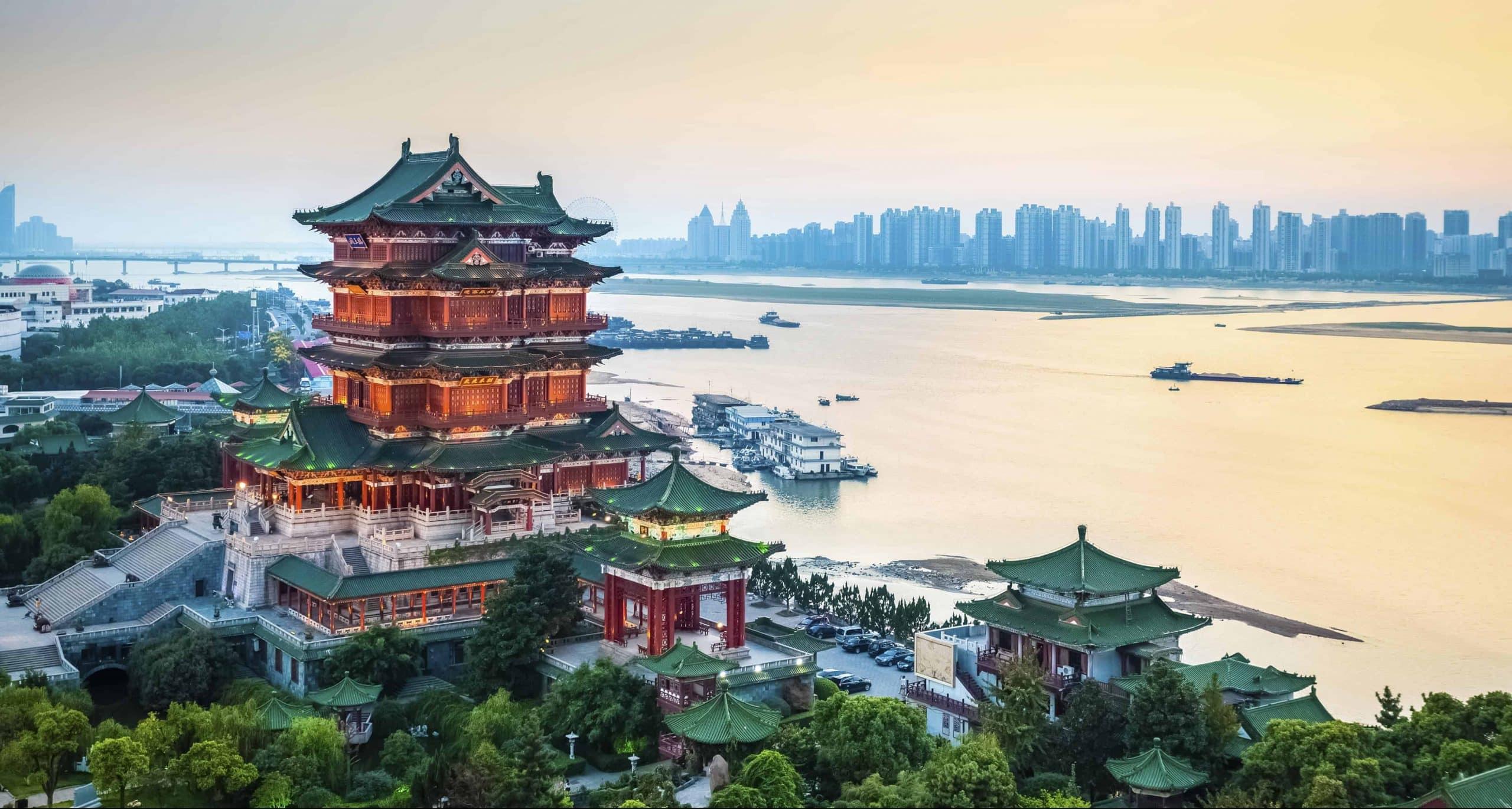 Nanchang Tengwang pavilion - Kina - Risskov Rejser