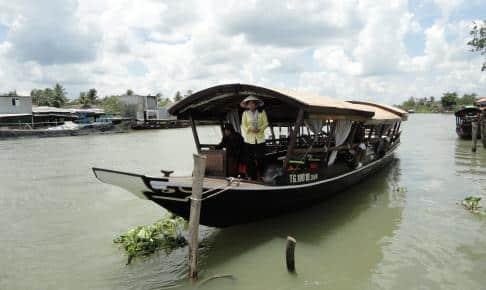 Mekong sejltur sampan - Vietnam