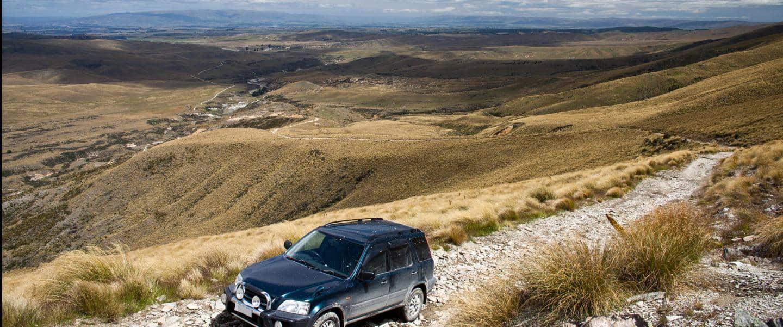 Offroad på New Zealand