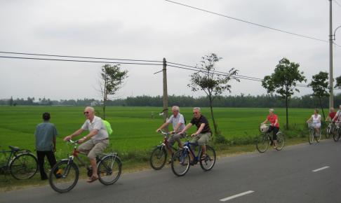 Cykeltur i Hoi An med Risskov Rejser