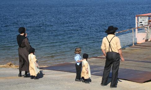 Amish familie - Risskov Rejser