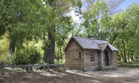 Guldminebyen Arrowtown fra 1861 - Risskov Rejser