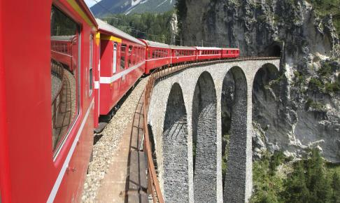 Toget, Bernina Express