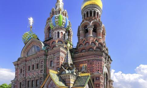 Blodskirken, Skt. Petersborg - Risskov Rejser