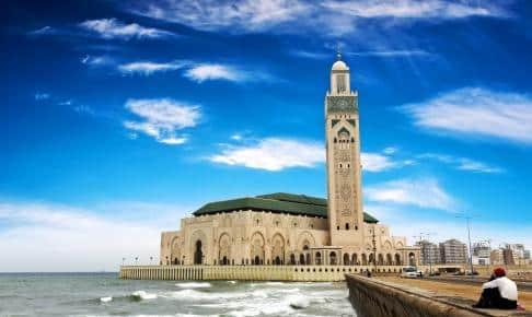 Hassan II-moskeen i Casablanca - Risskov Rejser