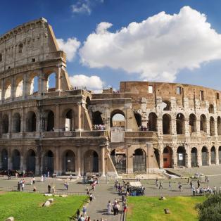 Colosseum i Rom, Italien - Risskov Rejser