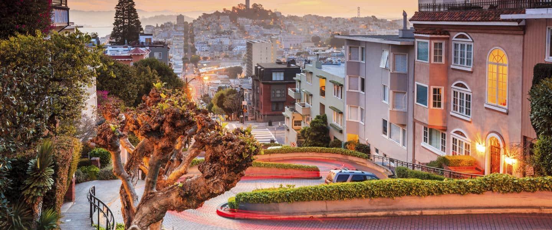 Lombard Street i San Francisco
