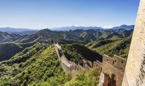 Den Kinesiske Mur, Kina