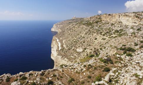 Dingli Cliffs på Malta