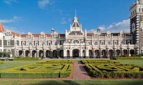 Den historiske togstation i Dunedin - Risskov Rejser