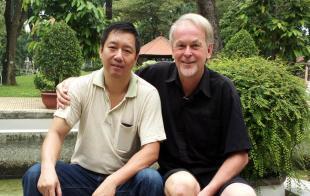 Rejseleder Torben Folkmann og Hung