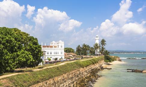 Galle Fort Sri, Asien - Risskov Rejser