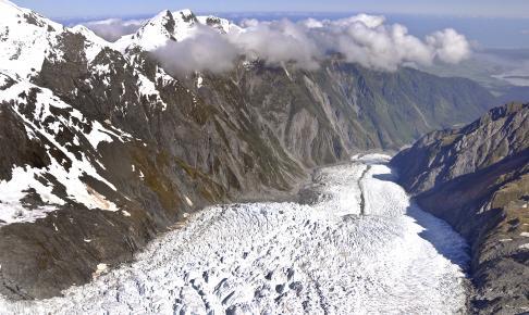 Fox Glacier i Southern Alps - Risskov Rejser