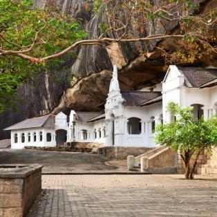 Oplev Dambulla templet på en rundrejse med dansk rejseleder til Sri Lanka