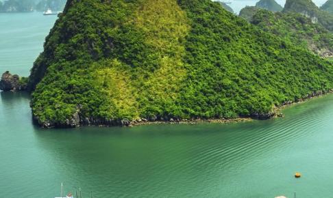 Ha Long-bugten i Vietnam - Risskov Rejser