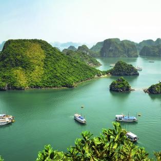 Halong bugten, Vietnam