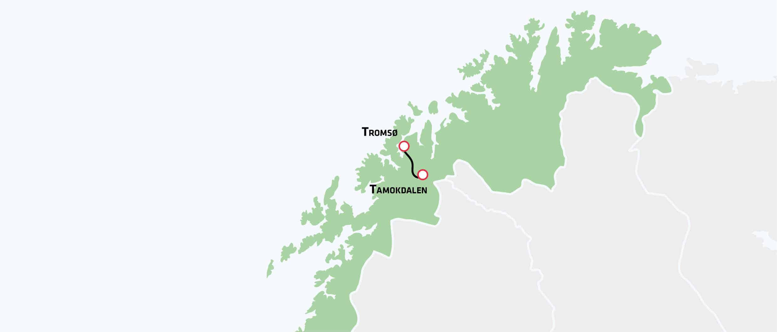 Himmelsk nordlys og snelandskab 4 dages rejse til Norge med Risskov Rejser Afrejse den: 23-11-2017 Afrejselufthavn: København