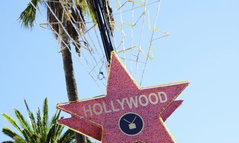 Hollywood skilt i Los Angeles - Risskov Rejser