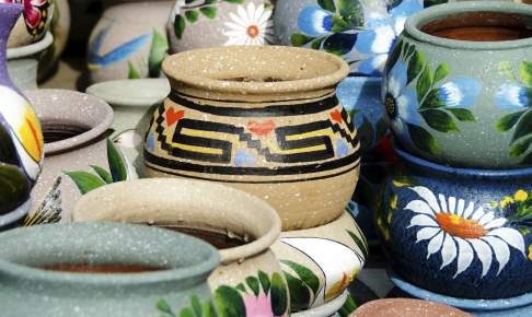 Flot mexicansk keramik - Risskov Rejser