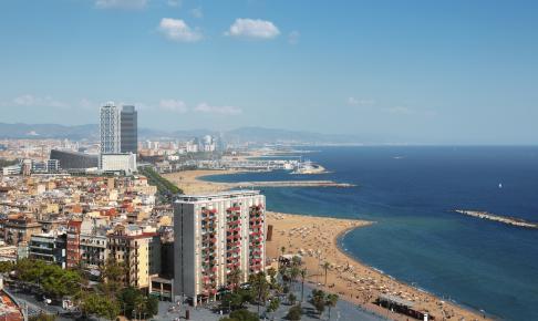 Barcelona coastline - Risskov Rejser