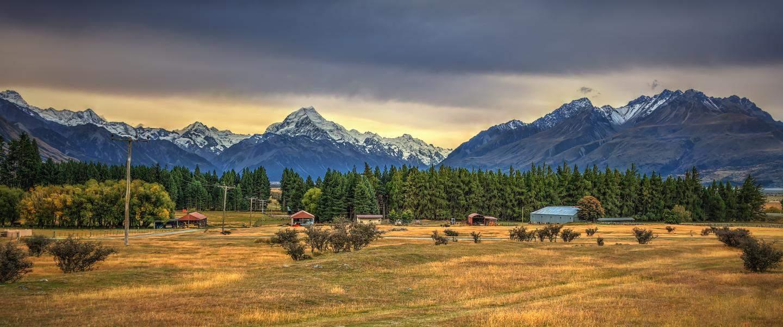 Idyllisk hjemsted på Mount Cook National Parken - Risskov Rejser