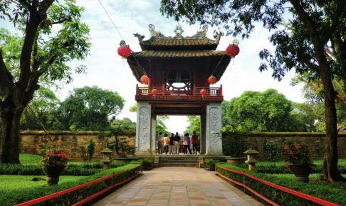 Litteraturens tempel som tidligere var et uddannelsessted - Risskov Rejser