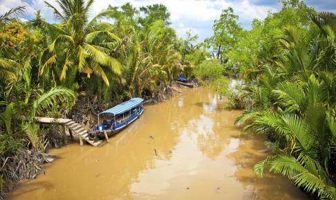 Kanal ved Hoi An - Risskov Rejser