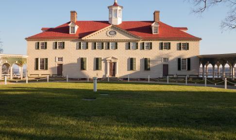 George Washington house Mount Vernon - Risskov Rejser