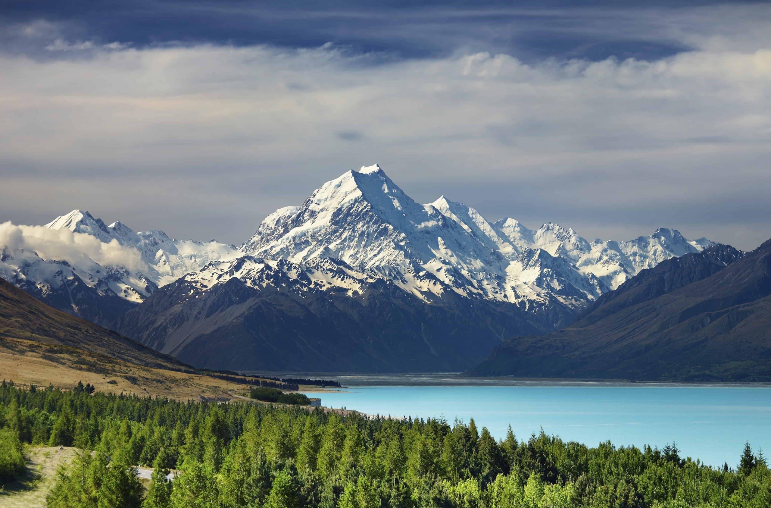 Mt Cook og Pukaki Lake, New Zealand - Risskov Rejser