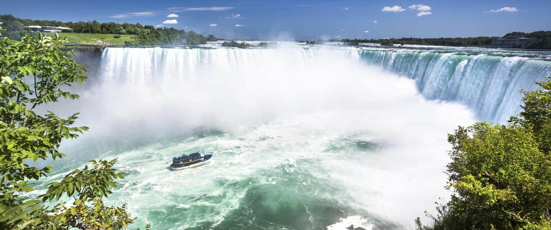 Niagara Falls i staten New York