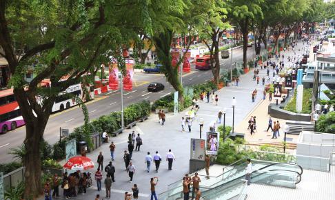 Shoppinggaden Orchard Road i Singapore - Risskov Rejser