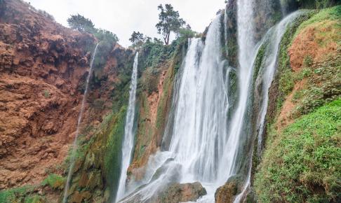 Ouzoud-vandfaldene der falder mere end 100 m - Risskov Rejser