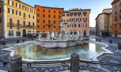 Piazza Navoana - Rom - Risskov Rejser