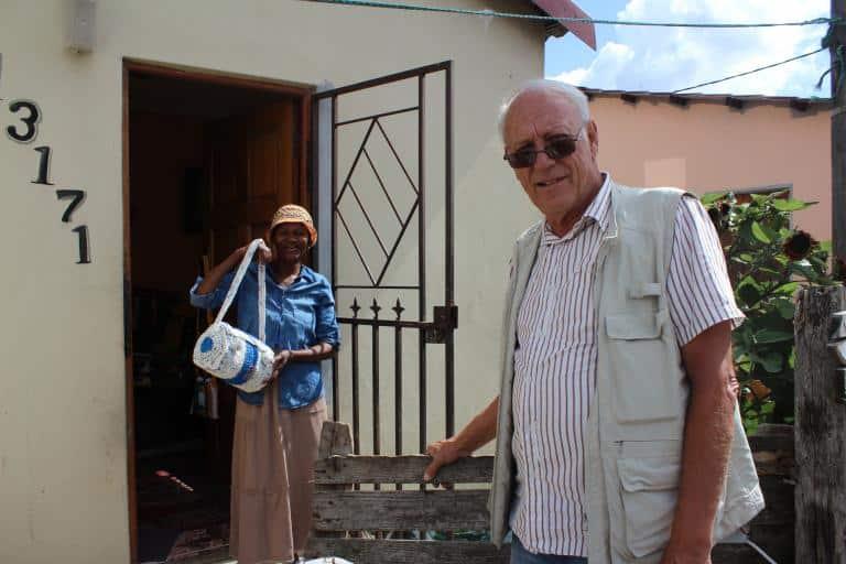 Rejseleder Pierre i township